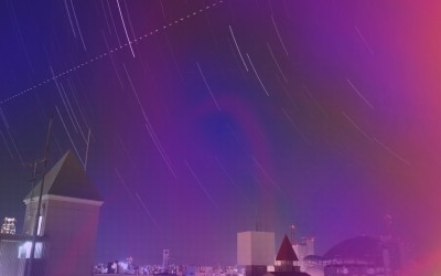 Osaka Night Time Lapse