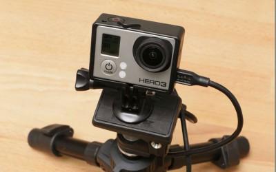 GoProで長時間タイムラプス