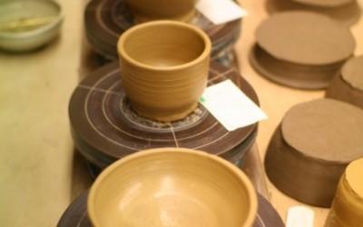 堀江で陶芸☆