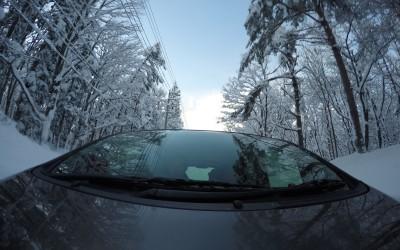GoPro Hero4を持って雪山へ